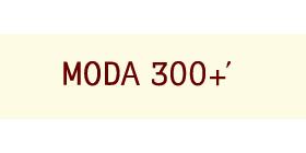 MODA 300+'のロゴ画像